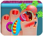 Bác sĩ chữa chân, chơi game bác sĩ online