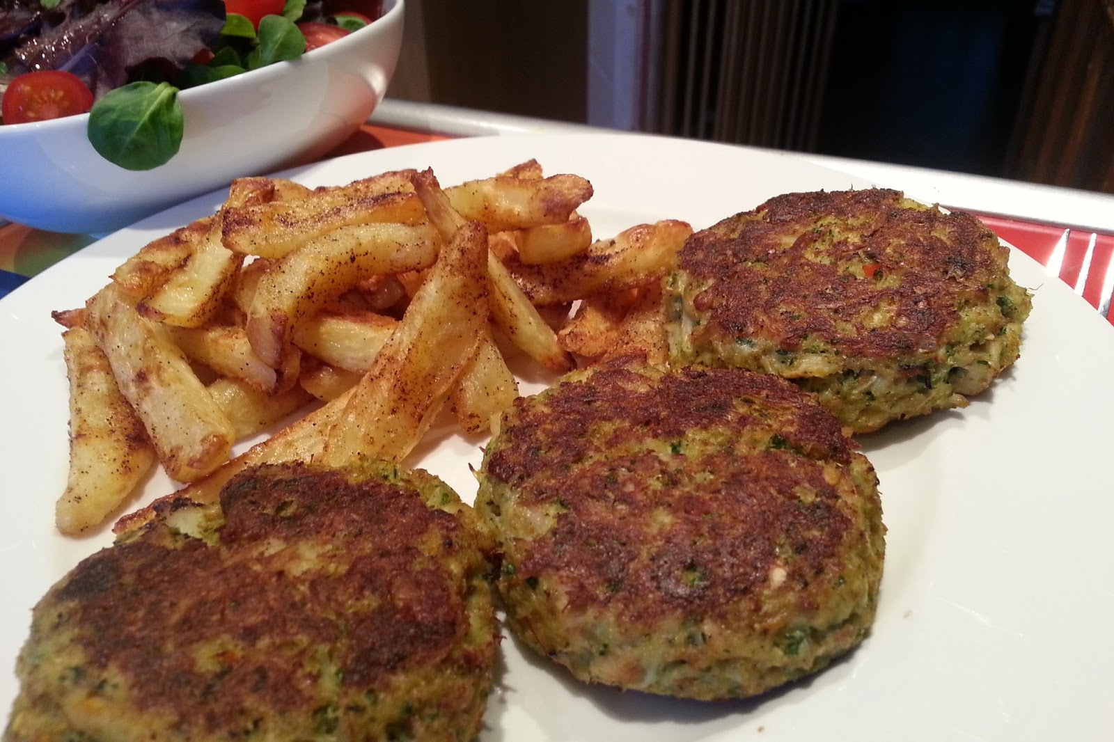 Thai Crab Cakes Slimming World