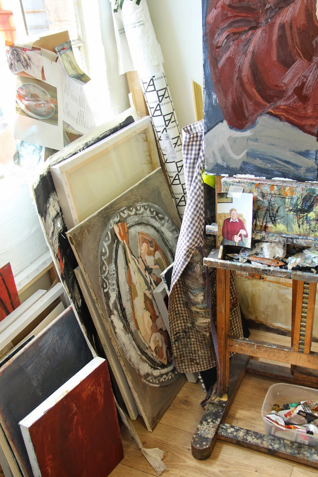 jane hooper artist, commercial square studios, trend daily blog, caroline davis