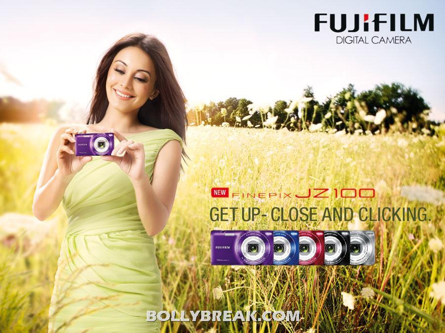 , Minissha Lamba Fujifilm Ad Campaign