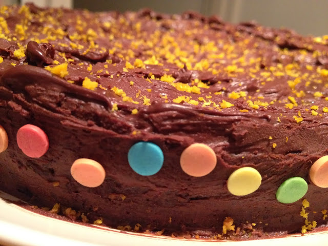 ThatRedheadSaid : Baking with Duerr's : Chocolate Orange Cake