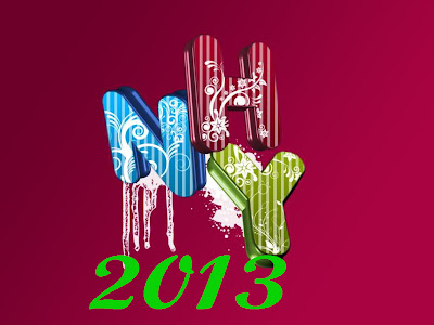 Latest Lovely Happy New Year Wallpapers 2013