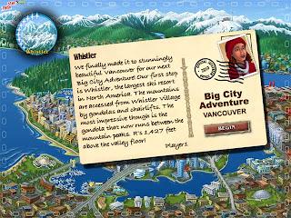 beginning of big city adventure