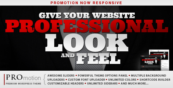 Image for ProMotion – Responsive Theme by ThemeForest