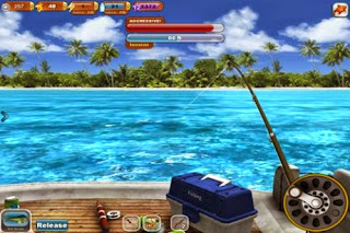 Screenshots of the Fishing Paradise 3D for Android tablet, phone.