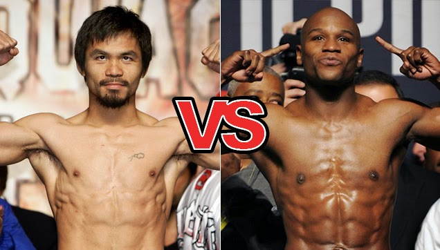 Congressman Manny Pacquiao and Floyd Mayweather Jr.