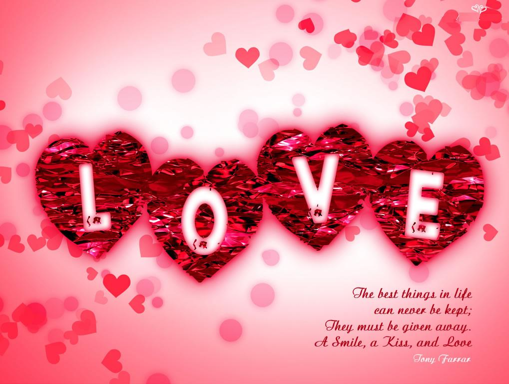 Free Download Love For My Valentine Wallpapers ...