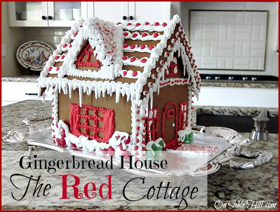 On Sable Lane Gingerbread House-Treasure Hunt Thursday- From My Front Porch To Yours