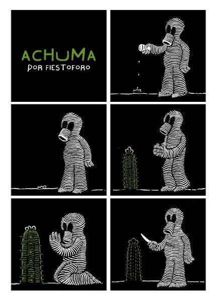 Achuma, un comic 1