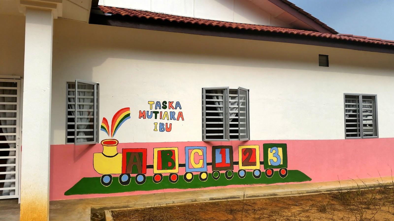 Bermula ceritaku october 2014 for Contoh lukisan mural tadika