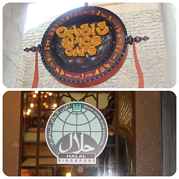 Oasis Spice Cafe Uss Menu