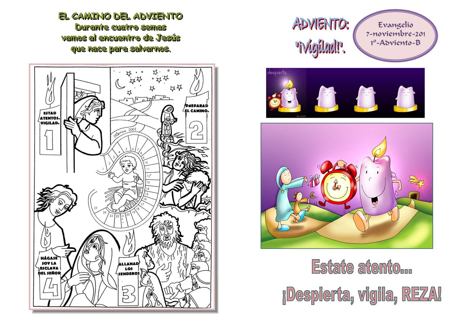 Evangelio de Domingo: 27 de noviembre de 2011 ~ Catequesis de la ...