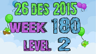 Angry Birds Friends Tournament level 2 Week 180