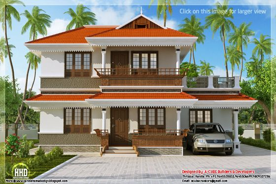 Kerala model home plan in 2170 home appliance for Model house plan