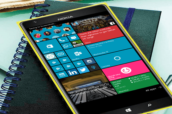 lumia 1520 running windows 10 mobile