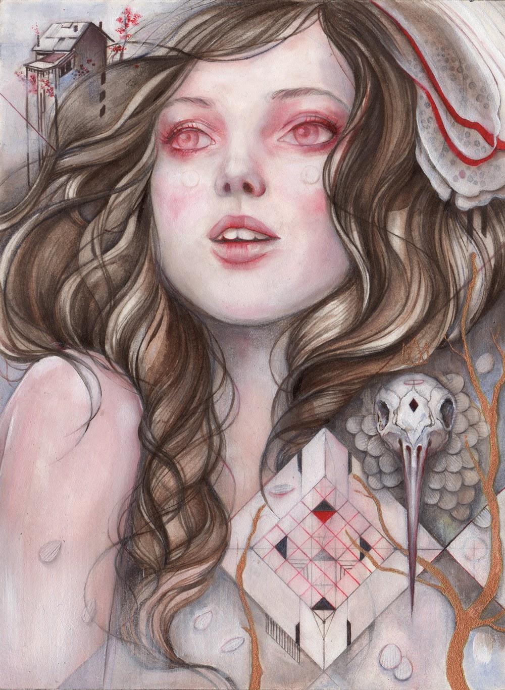 Nederlandse illustrator, Marjolein Caljouw