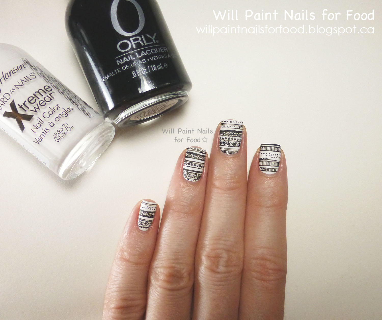 will paint nails for food 31 day challenge day seven black and abstract nail art challenge 1500x1254