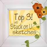 Stuck On U Sketches January 16 Card Sketch Challenge - Top 3