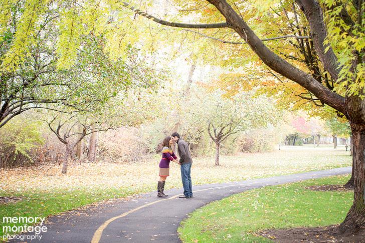 Fall Engagement Photos Yakima
