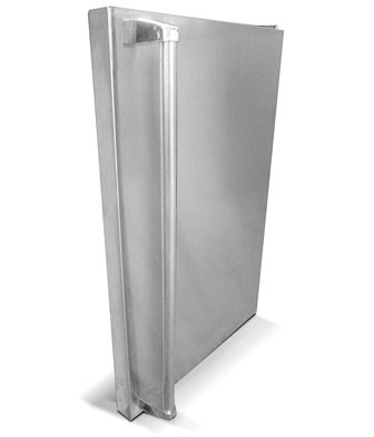 RCS Brand Refrigerator Stainless Steel Door Upgrade