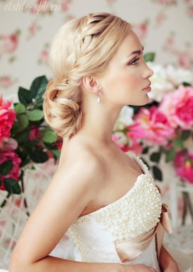 những mẫu tóc cô dâu đẹp 2014, làm tóc, bới tóc cô dâu đẹp