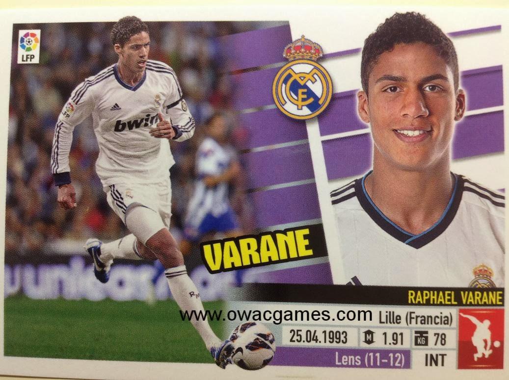 Liga ESTE 2013-14 Real Madid - 5 - Varane