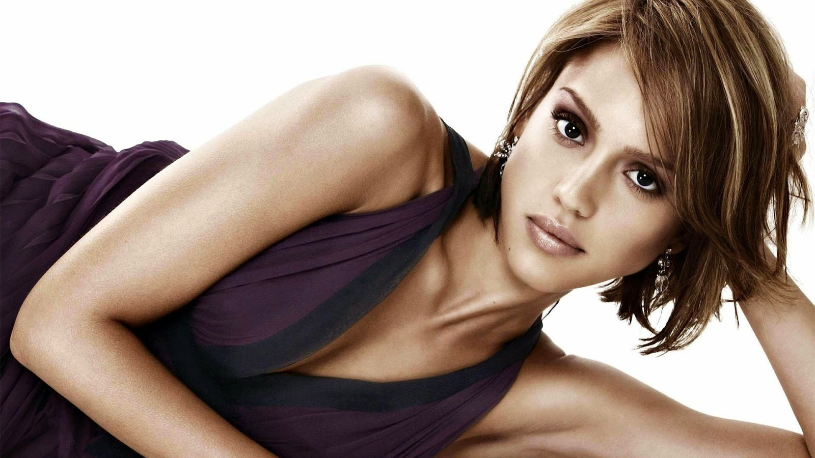 Jessica alba hollywood top 10 actress wallpaper
