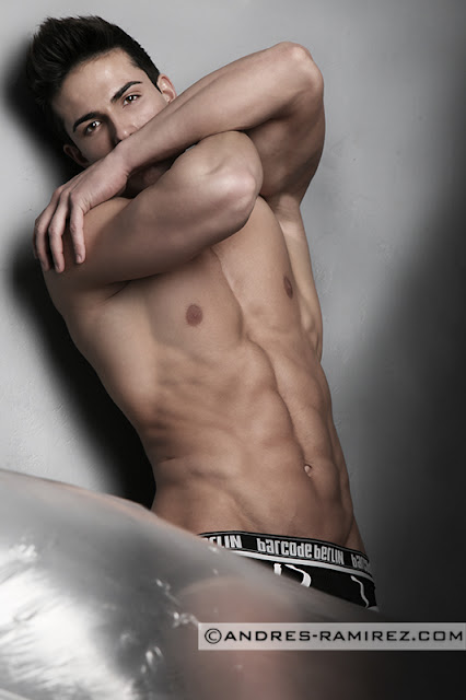 Hot model Mario Hervas in Barcode underwear