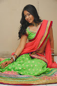 Mithra half saree photo shoot-thumbnail-6