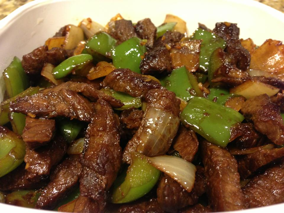 Sweetpea's Food Adventure: Pepper Steak