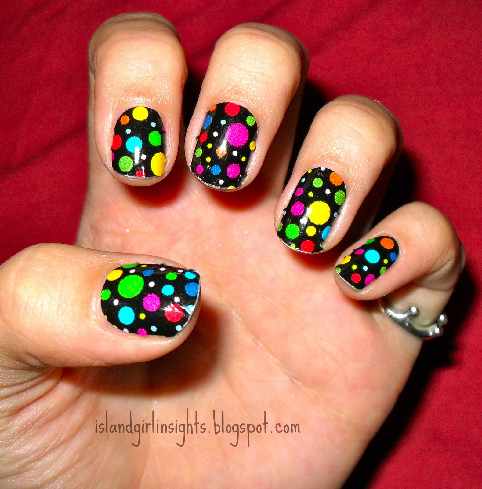 Just Rach // UK Fashion Beauty U0026 Lifestyle Blog NOTW - Children In Need Nail Rock Nail Wraps