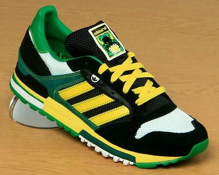 adidas originals zx 600 geel