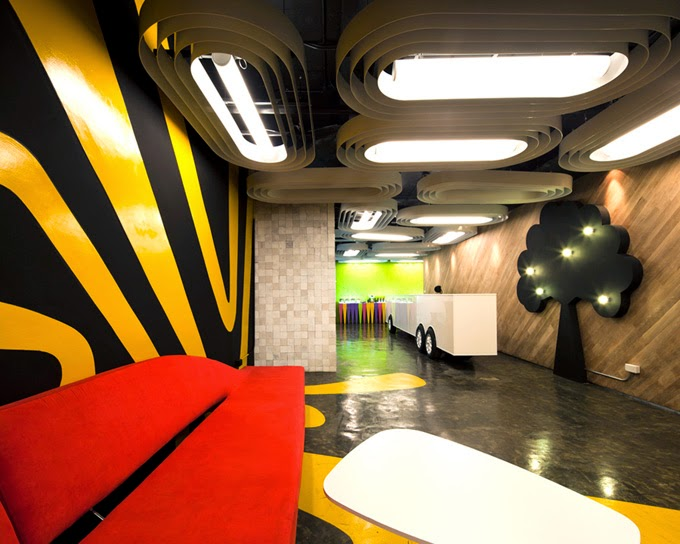 Saatchi & Saatchi's Office Interior Design Ideas 2