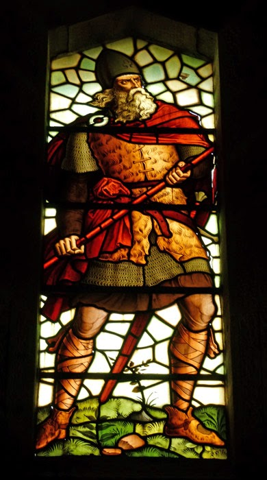 William Wallace, stained glass, memorial, Scotland.