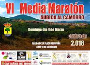 CARTEL (provisional) VI MEDIA MARATON SUBIDA AL CAMORRO