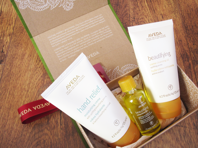 Aveda Uplifting Moments Gift Set review