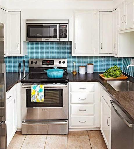 Model Dapur Cabinet Minimalis Modern Untuk Dapur Sempit