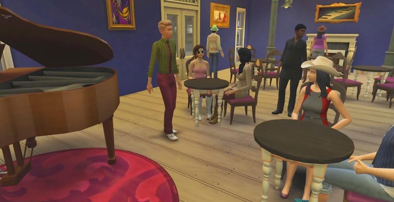 Die Sims 4 Party