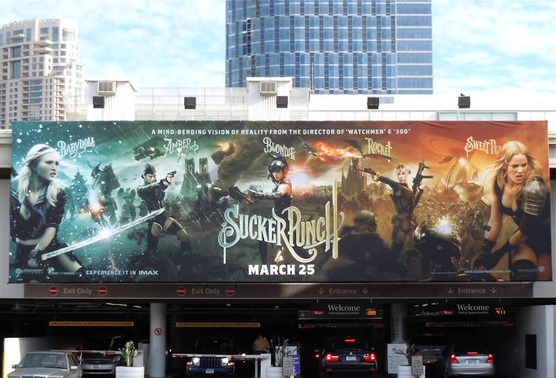 Sucker Punch billboard