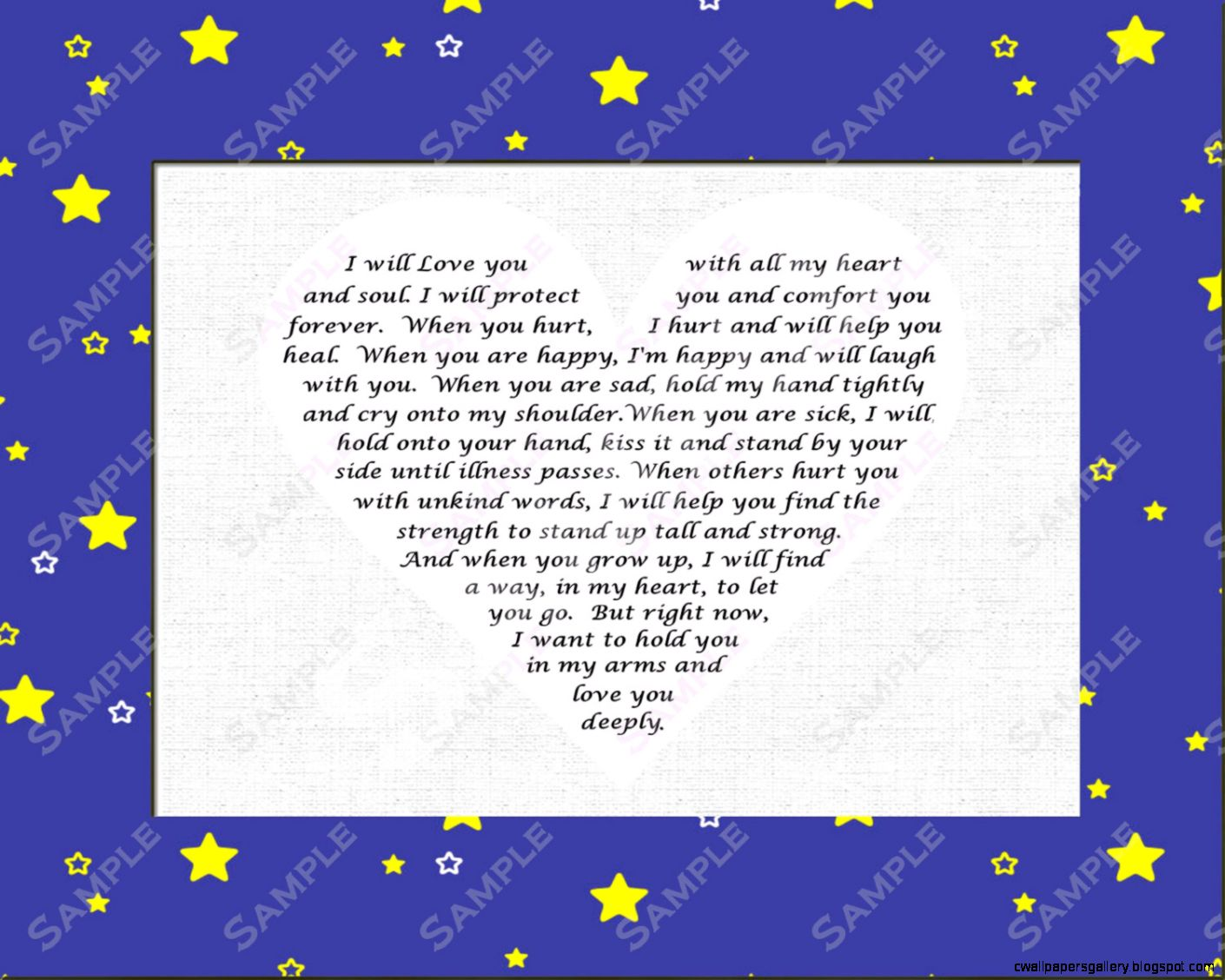 I Love You Baby Girl Poems