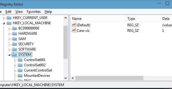Cara Mengedit Registry Editor Menggunakan CMD (Command Prompt)