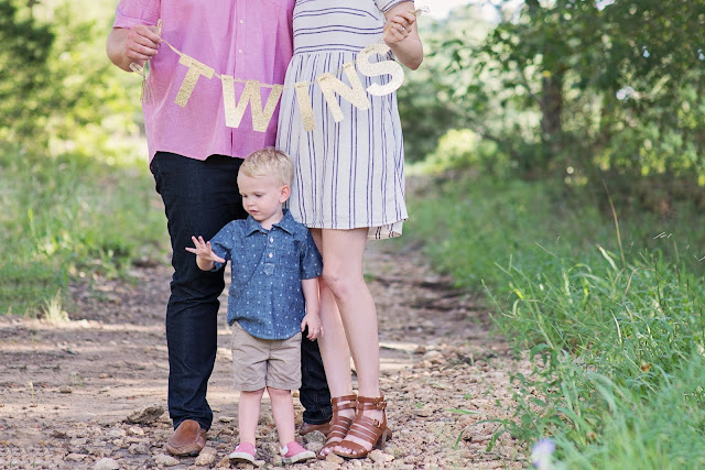 twins announcement, maternity photography, pregnancy, austin photographer