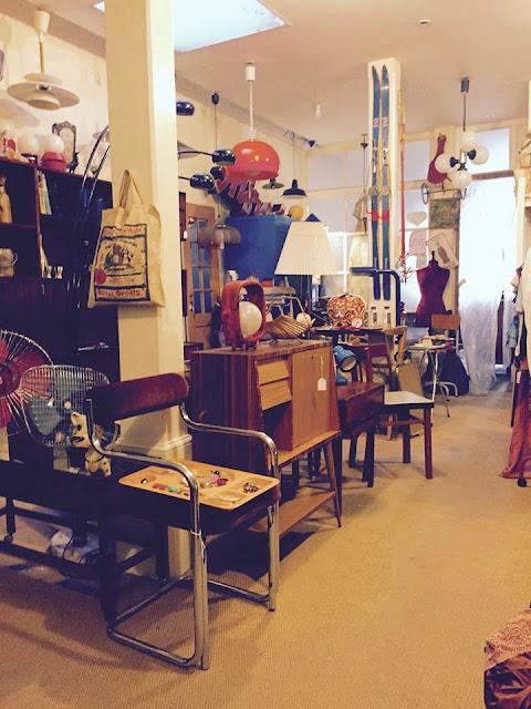 design nórdico, vintage, loja vintage