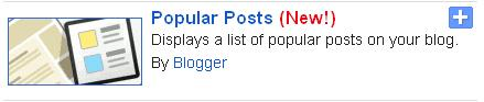 Most Viewed Posts Widget With Thumbnails by Blogger