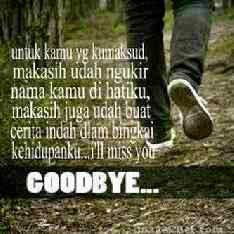 DP BBM selamat tinggal