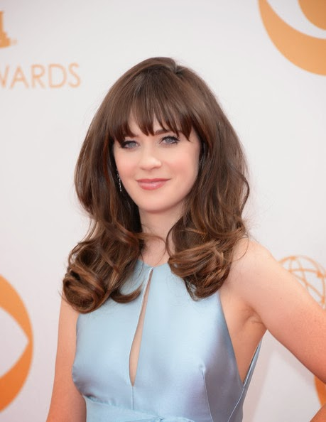 Zooey Deschanel HairstyleZooey Deschanel Bangs Cut