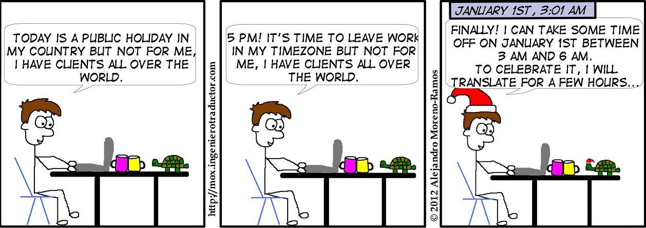 freelance translator availability trap