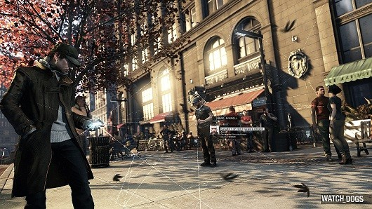 Screenshot of video game Watch Dogs