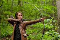 Katniss firing arrow