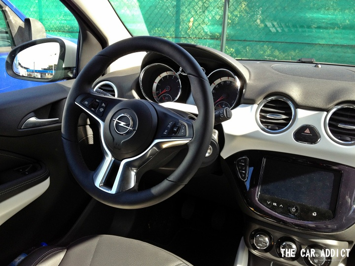 Opel Adam Innenausstattung Interior